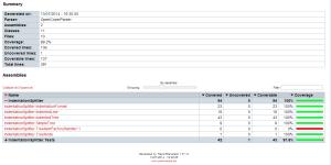 Report generator index file