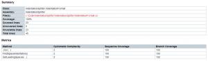 Report generator class overview