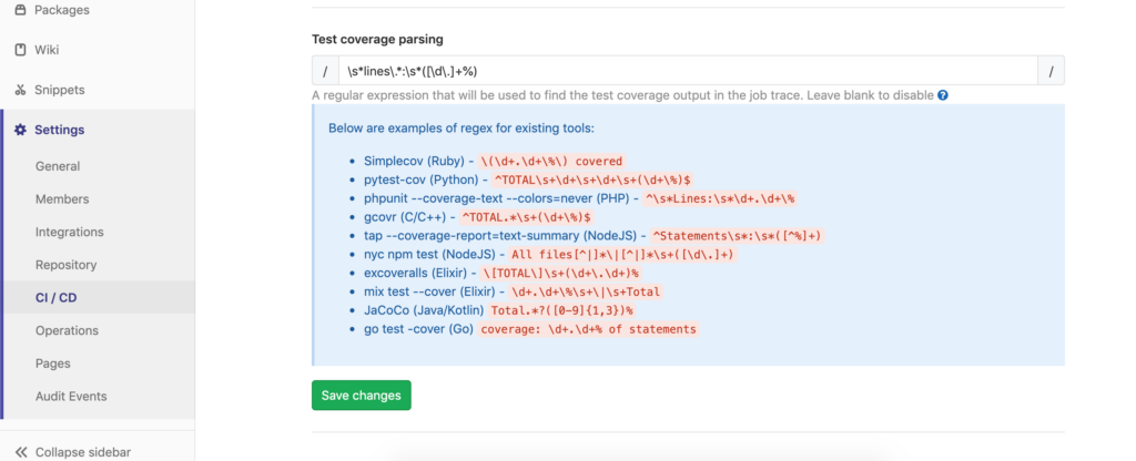 How to show flutter test coverage in Gitlab CI - Greycastle